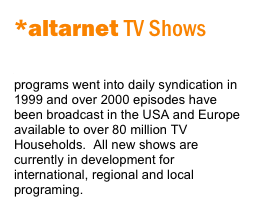 *altarnet TV Shows